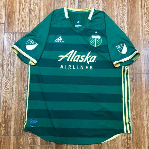premium selection af867 93b24 Authentic 2019 Portland Timbers Jersey